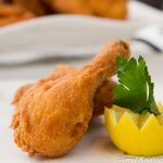 styrian breadcrumbed fried chicken