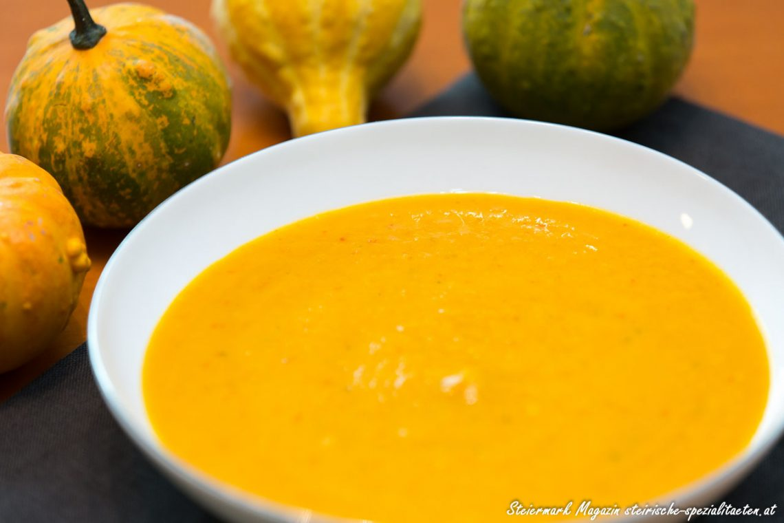 Styrian Cream of Pumpkin Soup