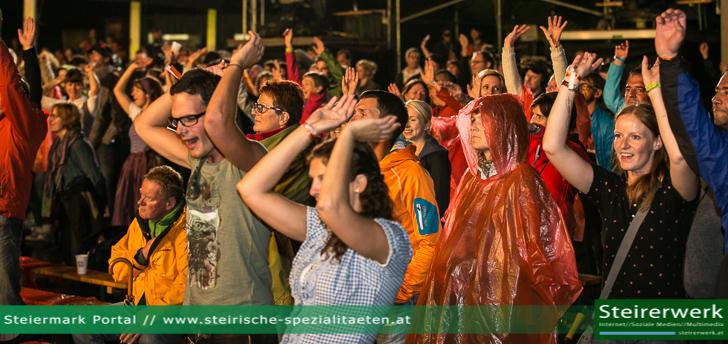 Besucher Spielberg Musikfestival
