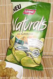 Chips mit Kürbiskernöl