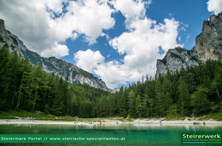 Schönster Platz Österreichs Grüner See