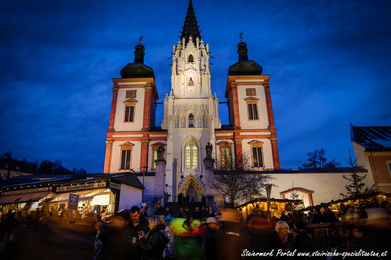 Besuch Mariazeller Advent Basilika