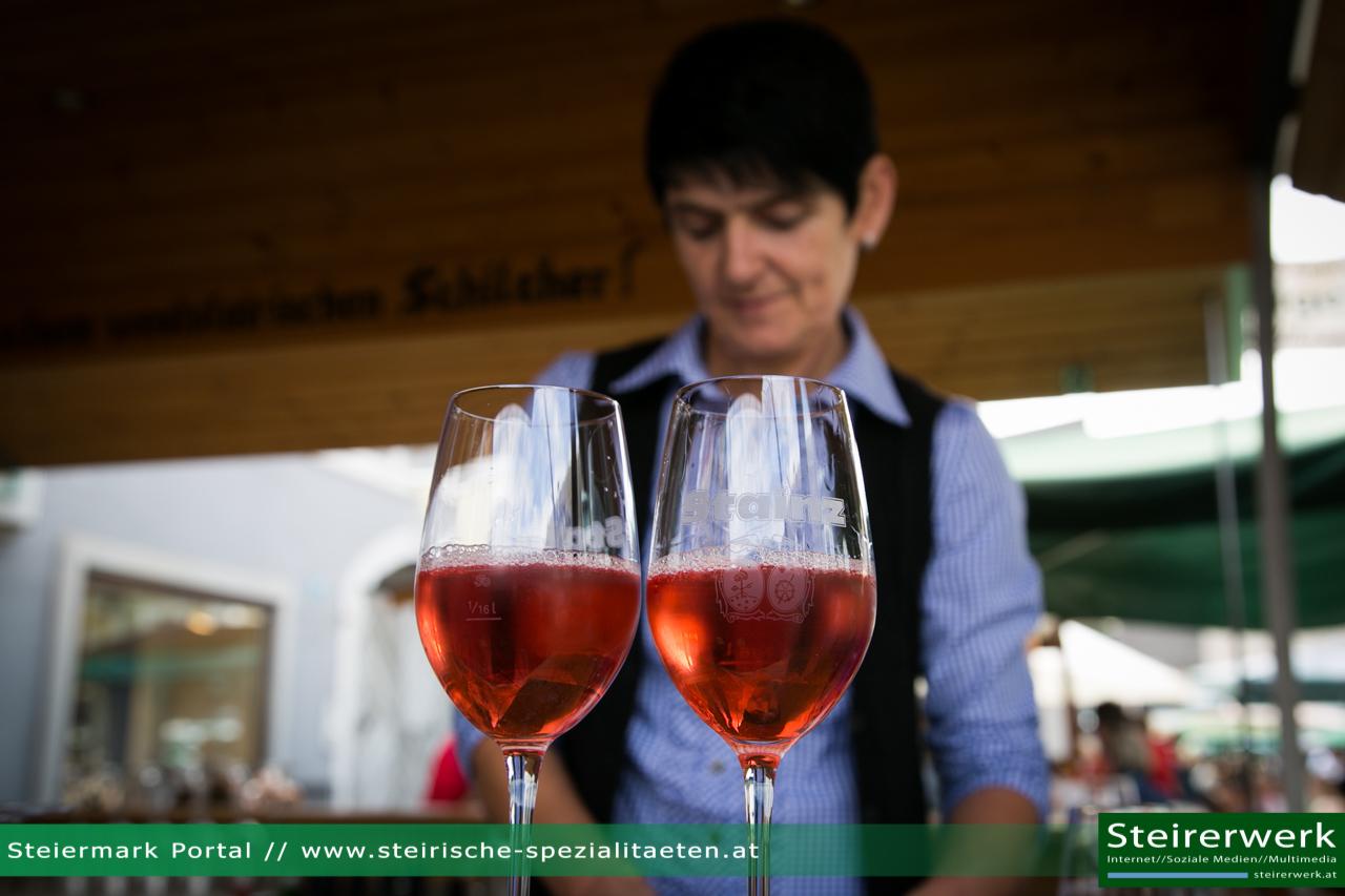 Weinglas Schilcher