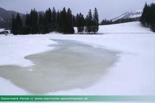 Teichalmsee Winter Eis