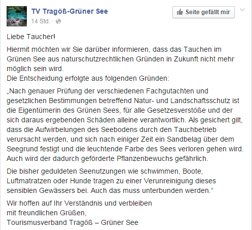 tv tragoess facebook gruener see