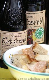 Kürbiskernöl verkosten Herstellung