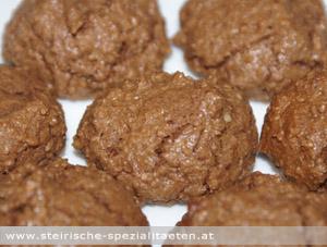 Schoko-Nuss-Busserl Keks Rezept
