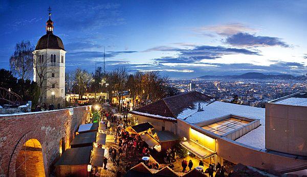 Aufsteirern Weihnachtsmarkt Am Schlossberg