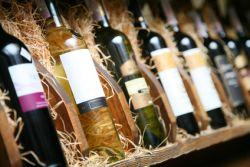 Steirische Weinflaschen