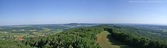 Klöcher Weinstraße Panorma