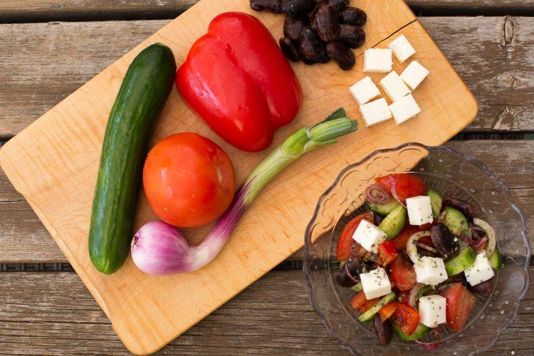 Zutaten für den Bauernsalat