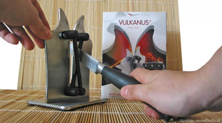 Messerschärfer Vulkanus der Firma Stalleger im Test
