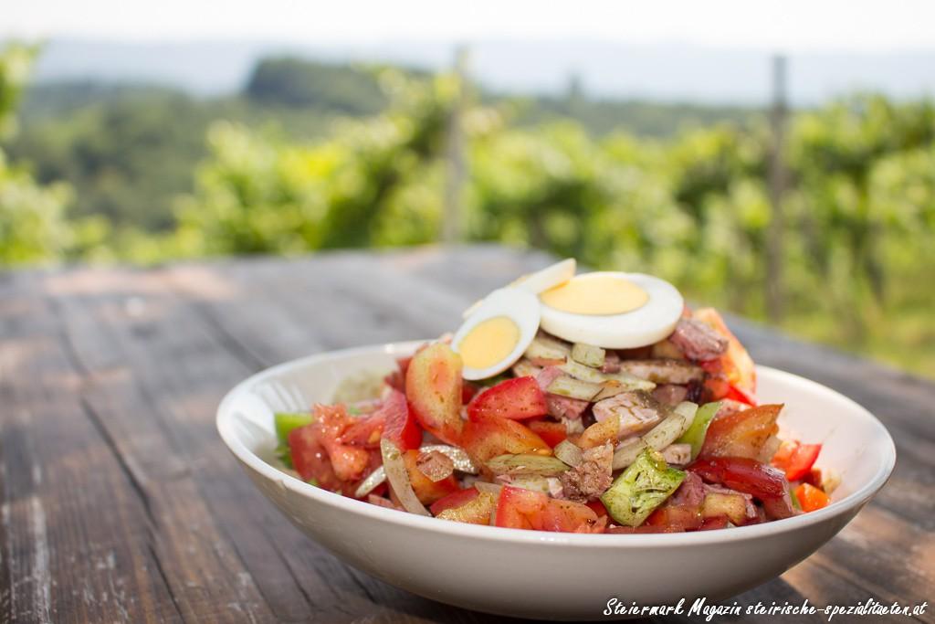 Saurer Salat