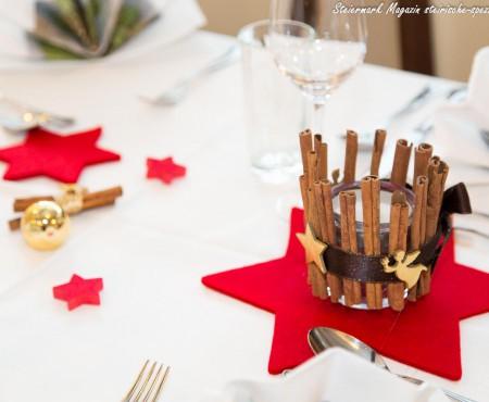 Steirisches Weihnachtsessen – Ein Weihnachtsmenü in drei Gängen