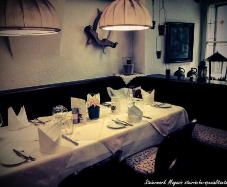 Stainzerbauer – Gehobene steirische Küche inmitten der Altstadt von Graz