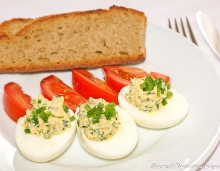 Gefüllte Eier einfach & gut