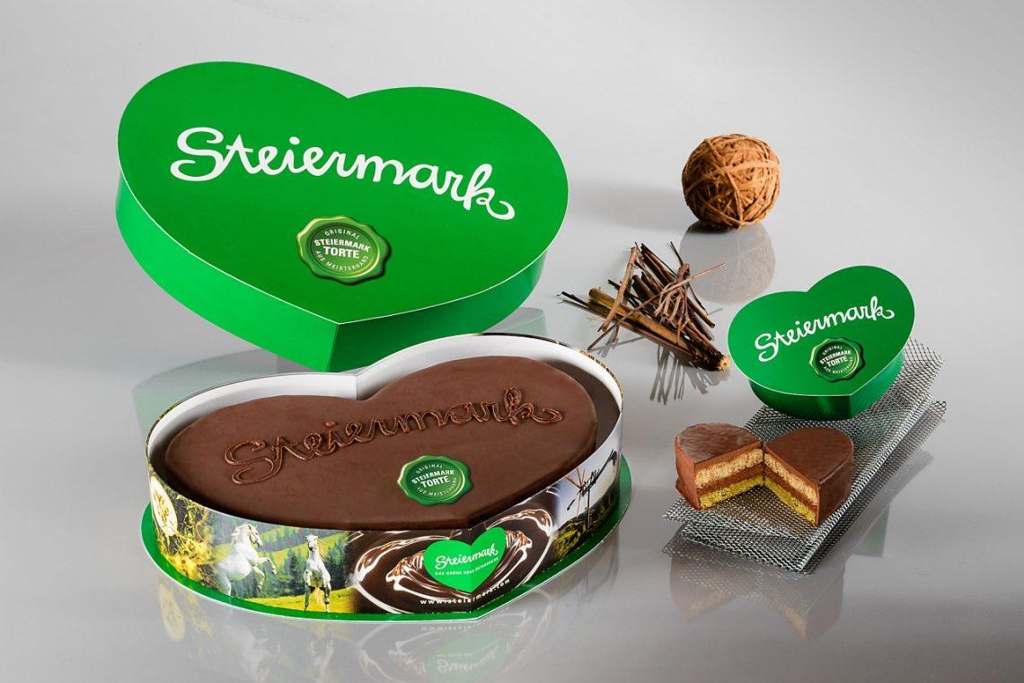 Steiermark Torte – die Steirertorte mit Herz