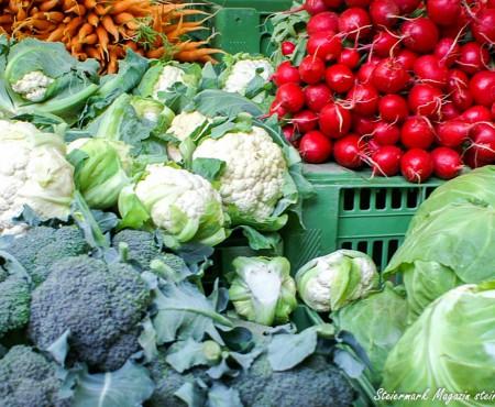 Frisches Gemüse: Von FoodCoop bis zur Gemüsekiste Hauszustellung