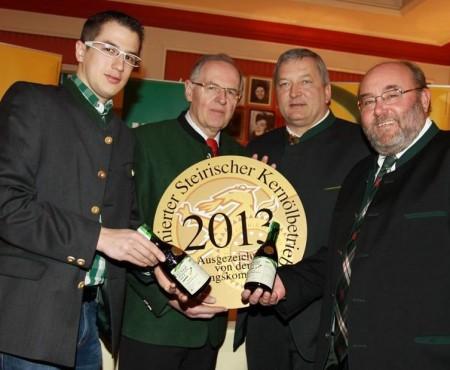 Die besten Kürbiskernöle aus der Steiermark 2013