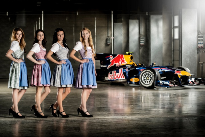 Gradner Alltagstracht Formel 1