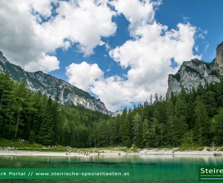 Grüner See bei ORF-Show 9 Plätze – 9 Schätze schönster Platz Österreichs