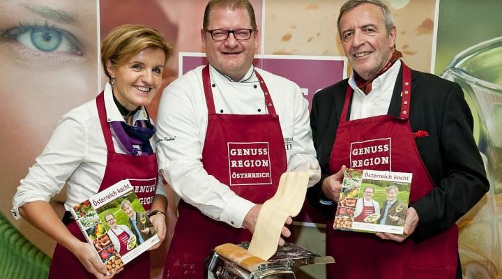 Österreich kocht: Kochbuch der GenussRegionen