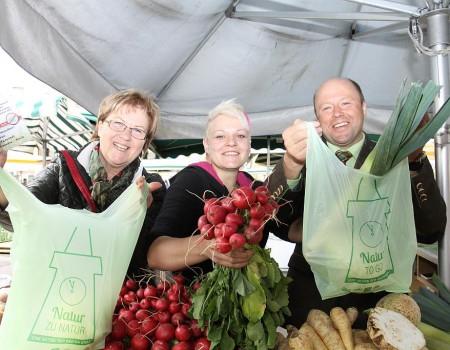 Plastiksäcke auf Bauernmärkte in Graz und Umgebung sollen reduziert werden