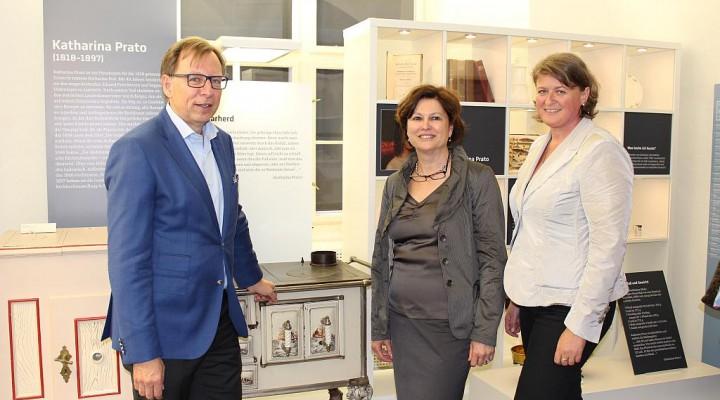 Eröffnung der steirischen Kochbuchausstellung der Landesbibliothek