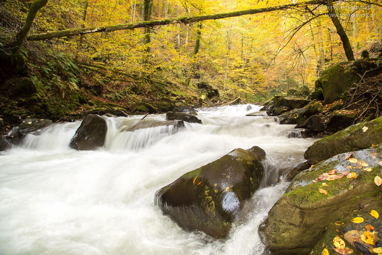 Wasser Deutschlandsberg Klause Herbst