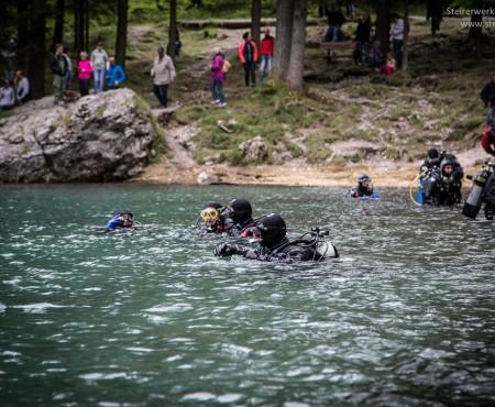 Tauchen im Grünen See nicht mehr erlaubt