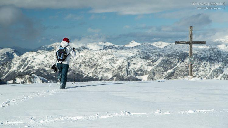 Winterwandern Lawinenstein Tauplitz