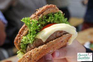 Almo Burger am Aufsteirern essen