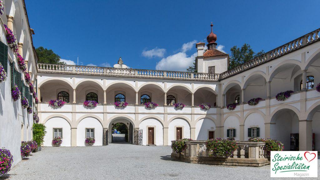 Schloss Herberstein Innenhof