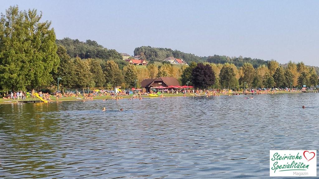 Schwimmen im Stubenbergsee