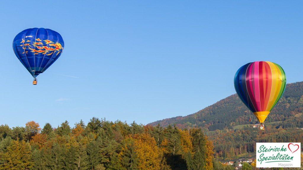 Ballonfahren Oststeiermark