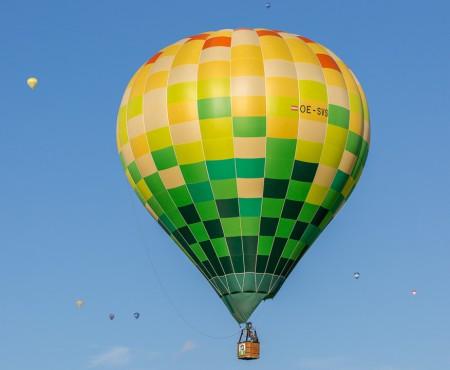 Ballonfahrt in der Steiermark