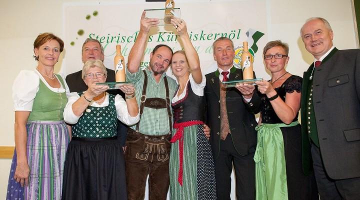 Kürbiskernöl-Champions in der Steiermark gekürt