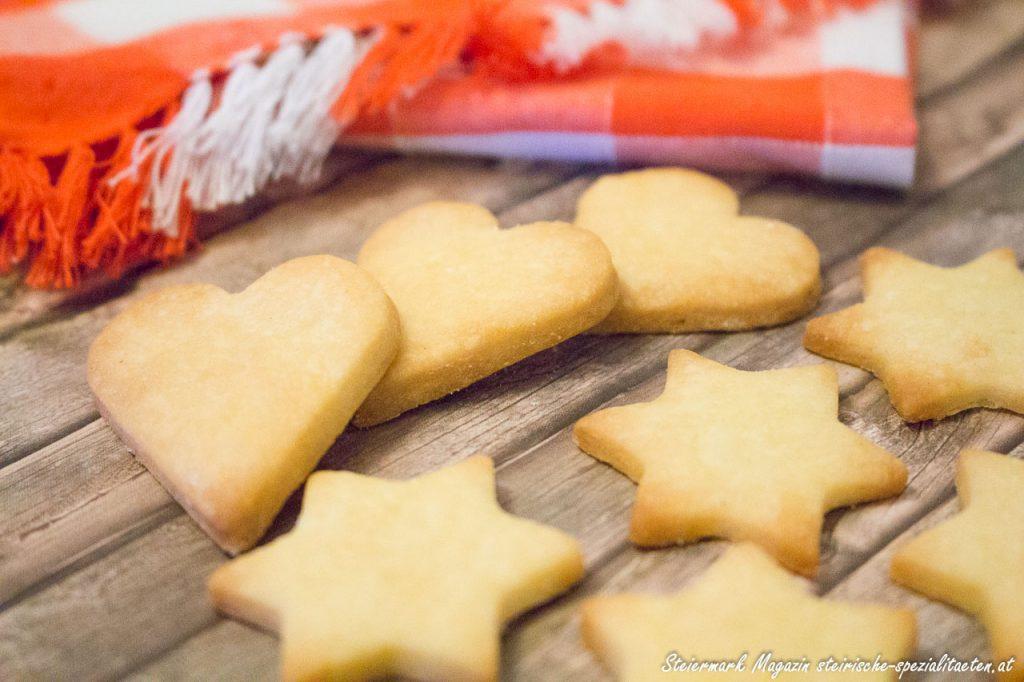 Einfache Kekse Formen