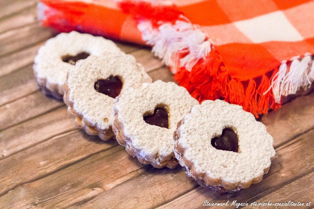 Linzer Augen Spitzbuben Ischler Bäckerei Kekse