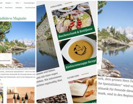 Jetzt abstimmen: Steirische Spezialitäten Magazin für PR-Panther nominiert