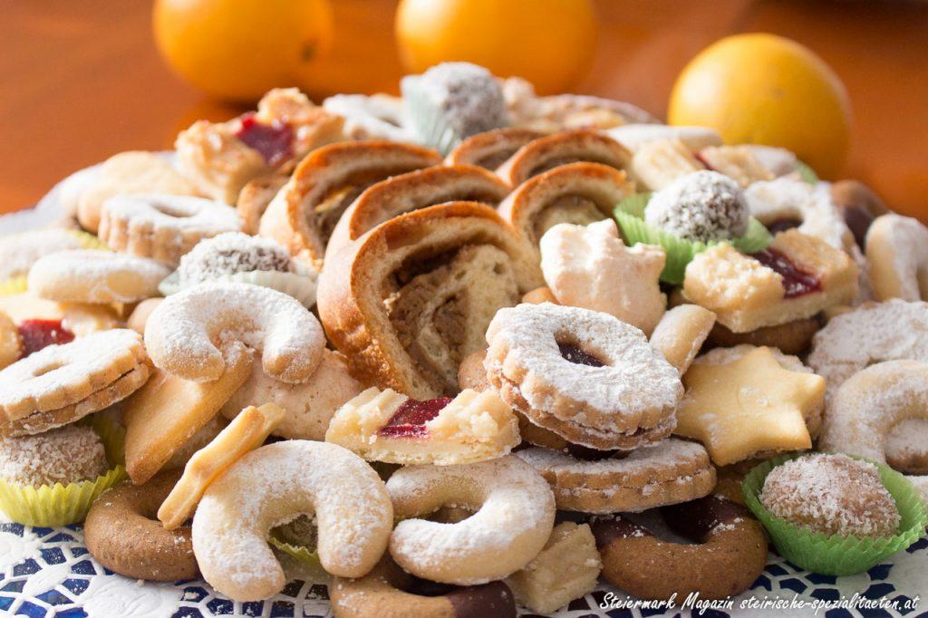 Weihnachtsbäckerei in Österreich