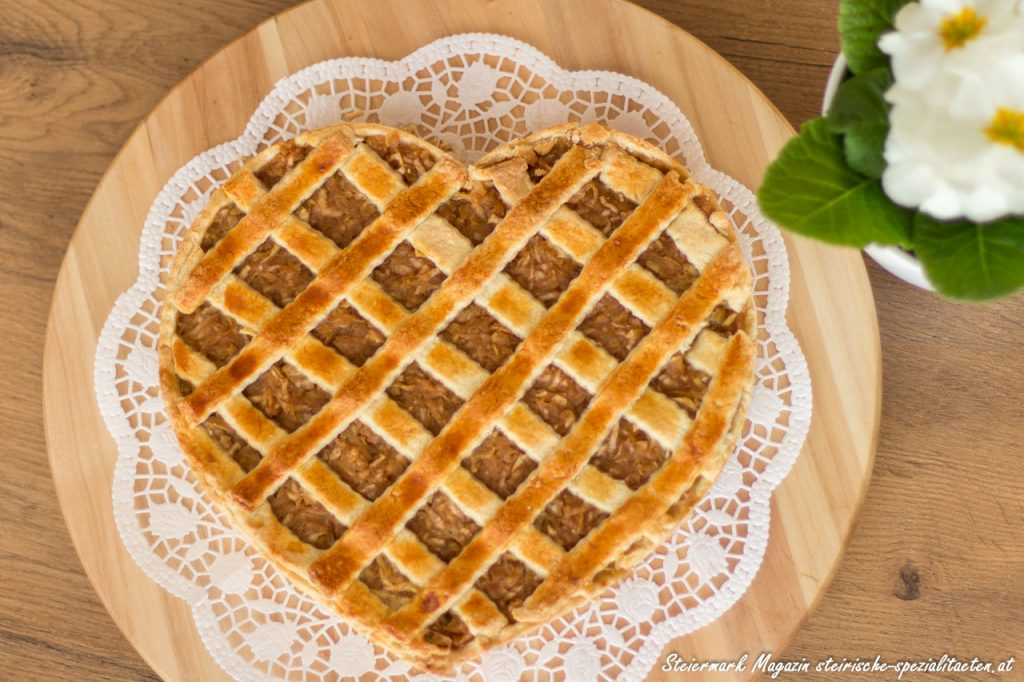 Valentinstag backen Herz