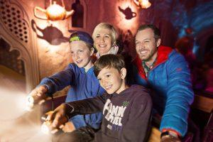 Familienausflug in der Grazer Märchenbahn