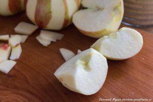Äpfel schneiden