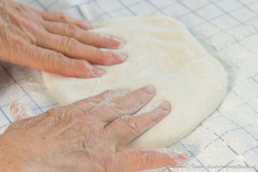 Apple strudel dough