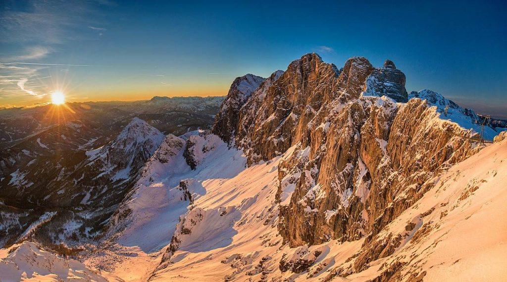 Dachstein Sonnenuntergang