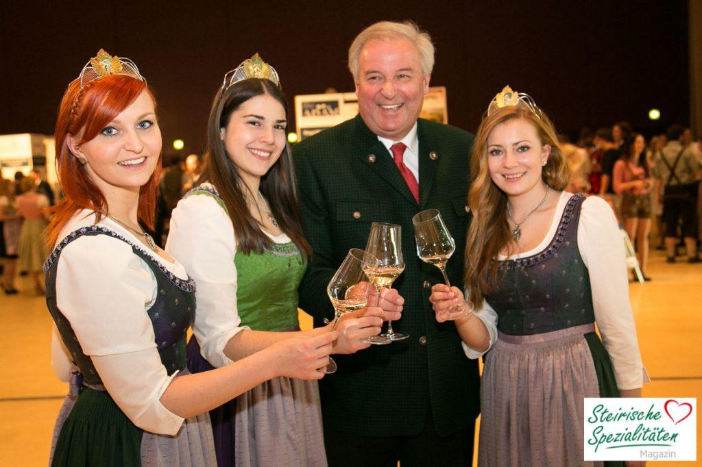 Landeshauptmann Weinverkostung Stadthalle Graz