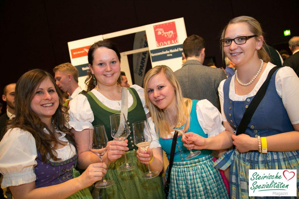 Weinverkostung Jahrgangspräsentation Stadthalle Graz