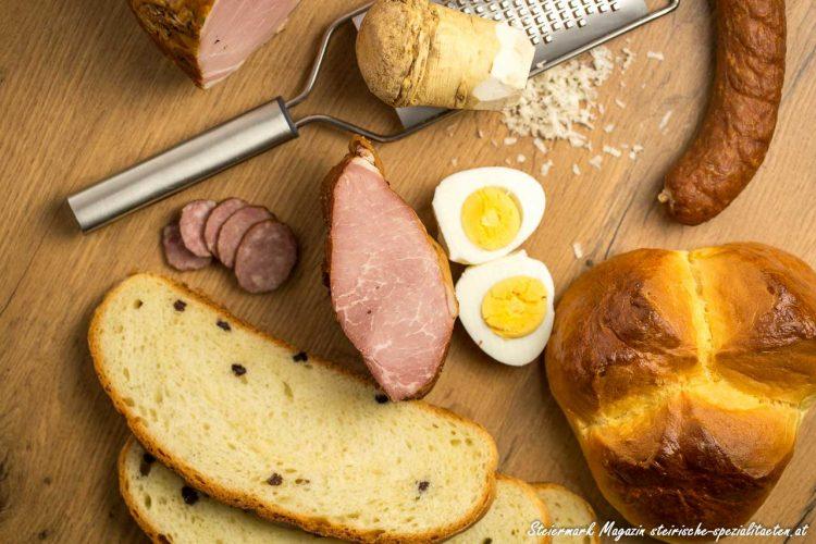 Herzhafte Jause zu Ostern