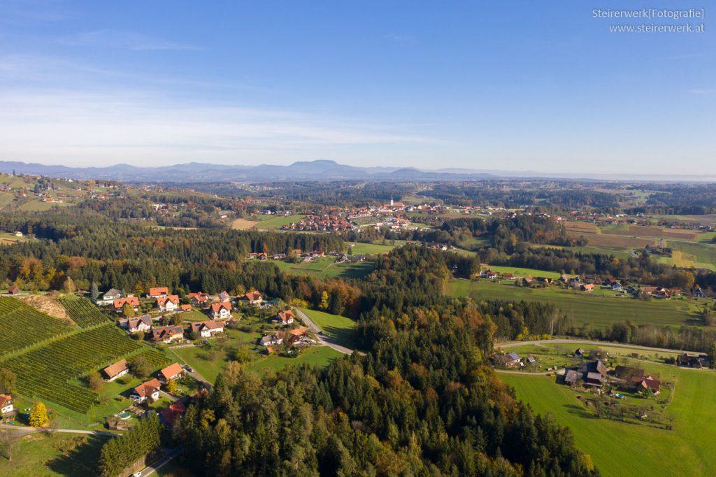Weststeiermark Luftaufnahme